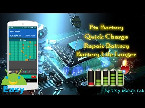 Repair Battery & Quick charge | Easy Android