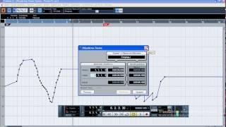 Створення музики: Cubase, Автоматизація. 1 - Трек темпу і музразмера