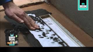 Bison Rubber Seal - Hoe maak je een douchegoot waterdicht?