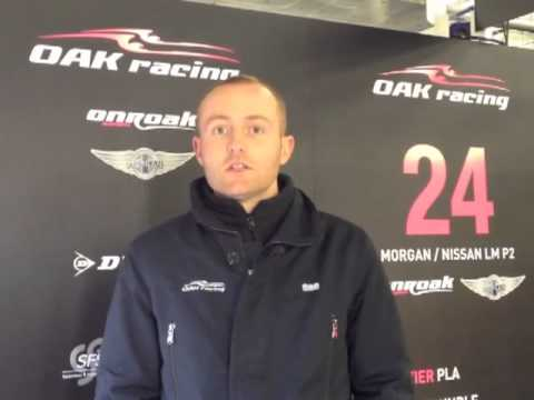 Interview Olivier Pla sur la concurrence en LM P2 pour la saison 2013
