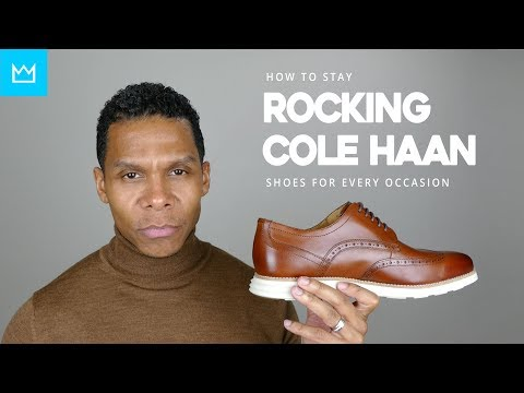COLE HAAN SHOES FOR EVERY OCCASION // BESTMANMADE