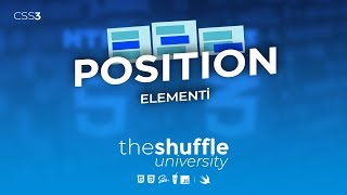 Ultra HTML/CSS Giriş! #19 Dərs - Position CSS Elementi