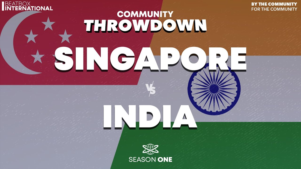 SINGAPORE 🇸🇬 vs INDIA 🇮🇳 | Community Throwdown