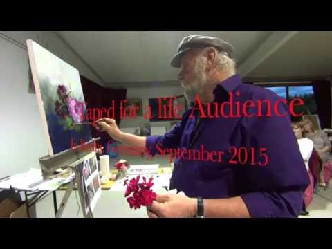The Beauty of Oil Painting, Life Demonstration, 17 September 2015
