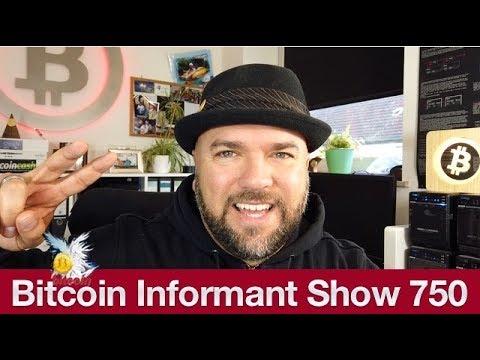 #750 Walmart Blockchain Supply Chain Management, Anonymous 75 Millionen Bitcoin Spende & China Cash