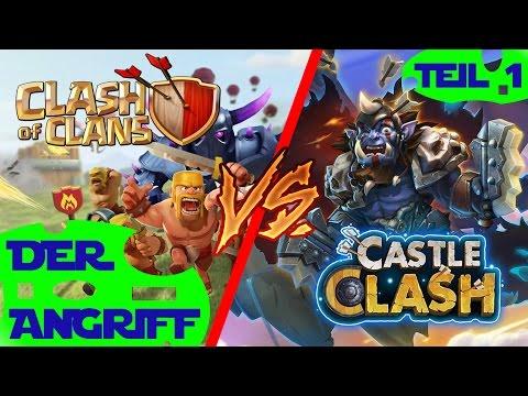 Clashfight ★ Clash of Clans vs Castle Clash ★ Der Angriff [Deutsch] RaeshCor