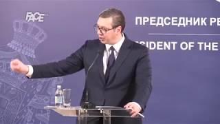 Vučić: Nećemo priznati Kosovo. Srbi na Kosovu i dalje protestuju.