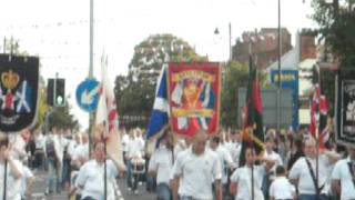 The Biggest Flute Band in Ulster the Limavady Mass Band,11th Night 2011