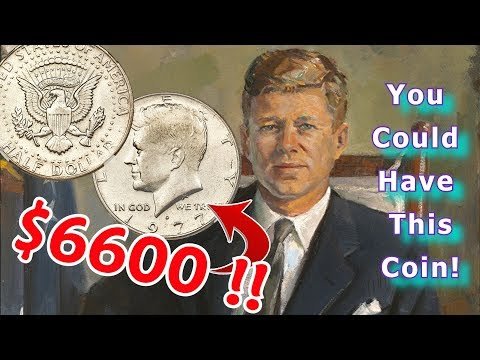 Valuable 1977 Kennedy Half Dollars Worth Money To Look For