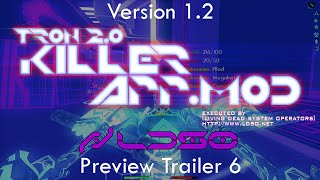 TRON 2.0 - KILLER APP Mod v1.2 Preview Trailer 6 (Multiplayer and Single Player Tests) (1080p HD)