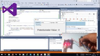 Visual Basic .NET | Receive Serial Data From Arduino