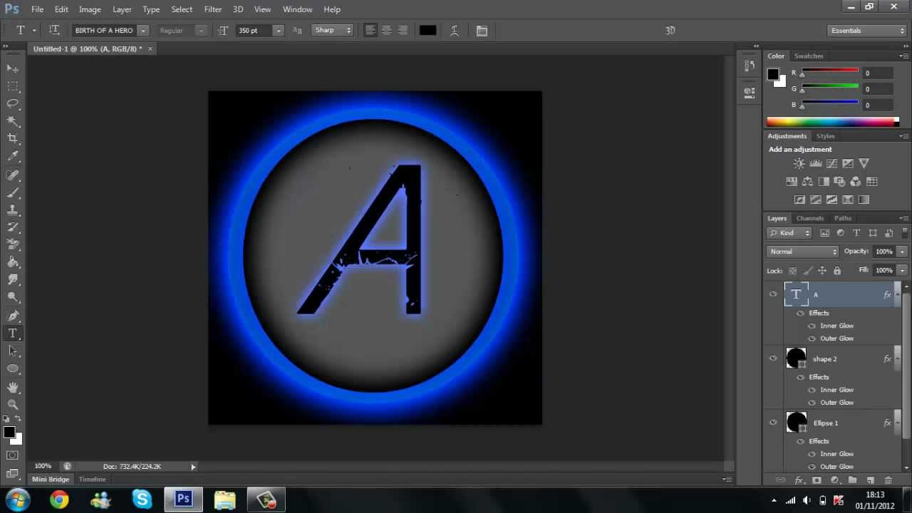 Photoshop Logo Tutorial: Step-by-Step Tutorial to Create a ...