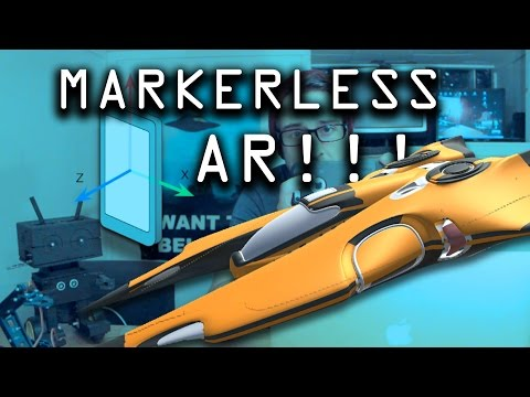 How To MARKERLESS Augmented Reality App Tutorial for Beginners with Unity 3D!!