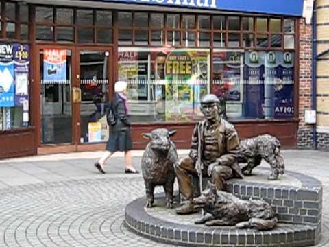 Statue Petersfield, Hampshire, UK