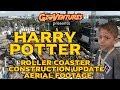 New harry potter roller coaster construction update universal orlando mp3