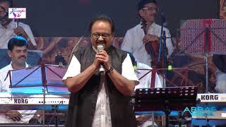 S P B Sings Pani Vizhum Malar Vanam from Ninaivellam Nithya | Abbas Cultural Kalai Vizha 2017