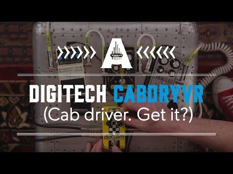 Digitech CabDryVR (Cab driver. Get it?) - Guitar Paradiso