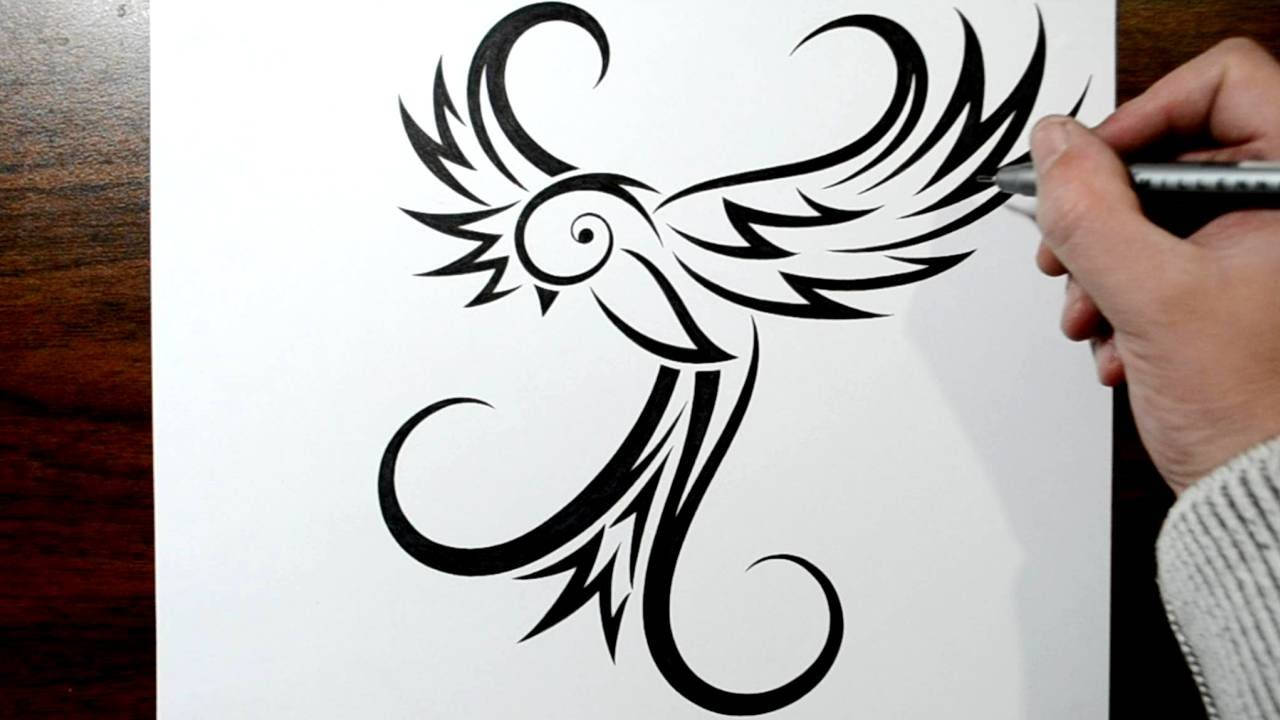 3 birds | Tatouage petit oiseau, Tatouage oiseau, Faux ... |Flying Birds Drawing Tattoo