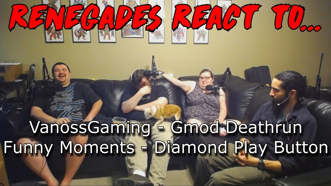 Download Renegades React to... VanossGaming: Gmod Deathrun Funny Moments - Diamond Play Button