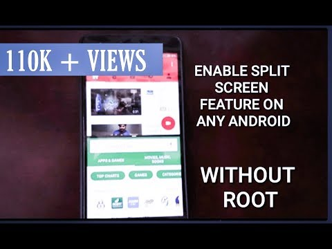 SPLIT SCREEN FEATURE ON ANY ANDROID PHONE (WITHOUT ROOT)
