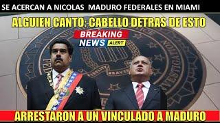 Se acercan a MADURO federales en MIAMI Diosdado el TRAIDOR