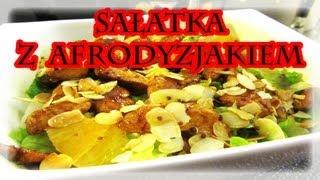 Fit ♣ SAŁATKA z kurczakiem i AFRODYZJAKIEM ♣ dietetyczna ♣ pyszna ♣ zdrowy przepis