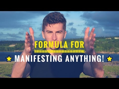 How to Manifest Anything in Your Reality - Money, Relationships, Career