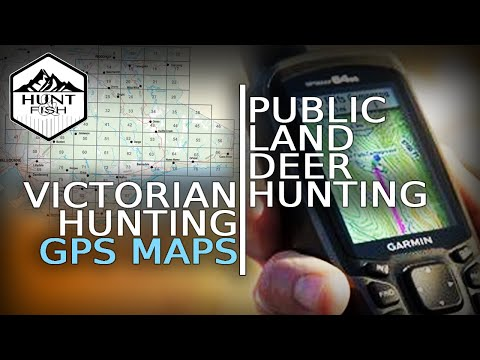 Free GPS Map Overlays For Deer Hunting - GMA Maps Onto Garmin