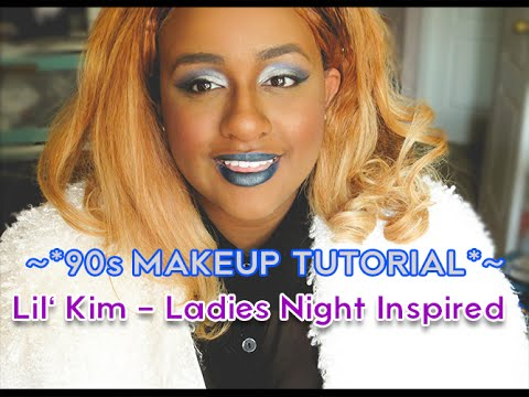 ~*90s MAKEUP TUTORIAL*~ | | LIL KIM - Ladies Night (Not Tonight Remix) Inspired Look