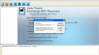 Exchange Backup Recovery Utility.wmv