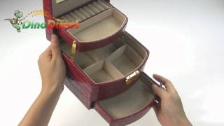 Elegant Jewelry Box Vanity Case  From Dinodirect.com