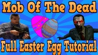"""Mob Of The Dead"" Full Easter Egg Achievement Tutorial (""Black Ops 2 Zombies"")"