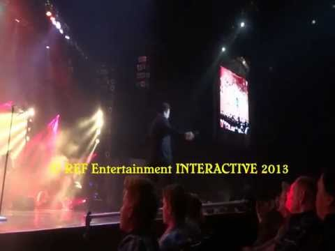 Bobby Kimball - HOLD THE LINE Las Vegas Copyright REF Entertainment INTERACTIVE 2013