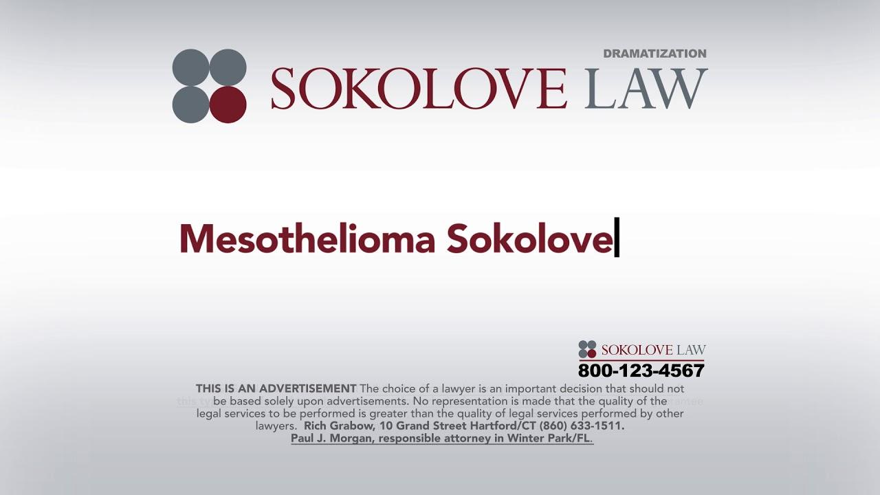 Mesothelioma Sokolove Law Blog Shop Usa
