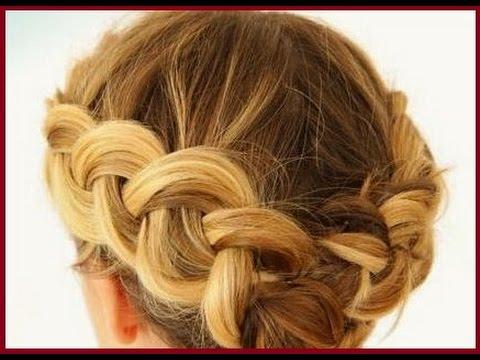 Плетение косичек на короткие волосы 50 фото вариантов