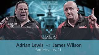 Adrian Lewis vs James Wilson | BetVictor World Matchplay Preview Show | Darts 🎯