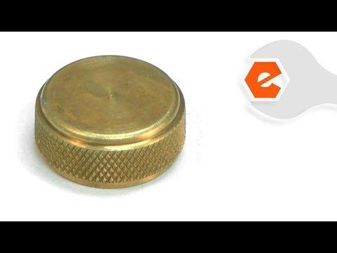 Coleman Lantern Repair - Replacing The Filler Cap (Coleman Part # 3000000454)