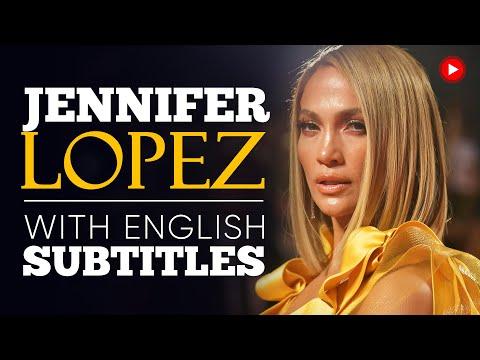 ENGLISH SPEECH | JENNIFER LOPEZ: You Can't Stop (English Subtitles)