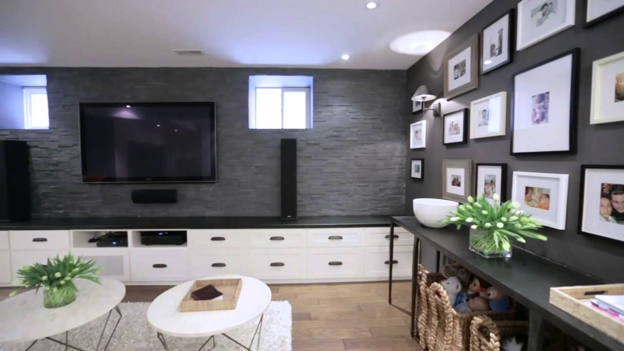 interior design how to design a multifunctional family basement - Interior Design Basement