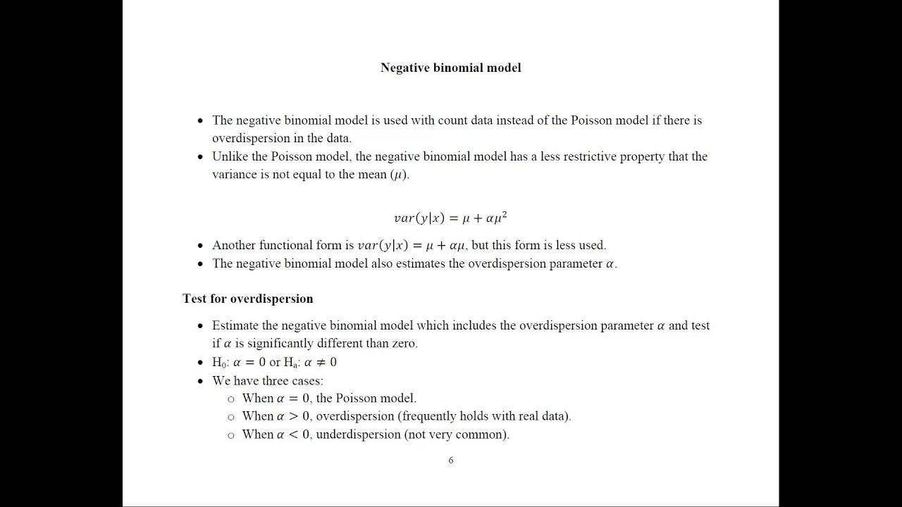 Count Data Models - Econometrics Academy
