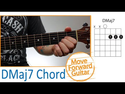 Dmaj7 Guitar Chord @ worshipchords