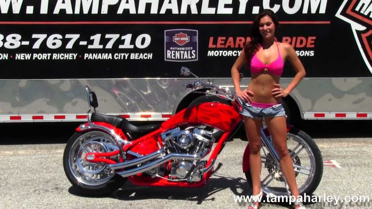 Used 2008 Big Dog Pitbull Motorcycle For Sale Low Miles Youtube