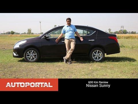 Nissan Sunny 600km Test Drive Review - Autoportal
