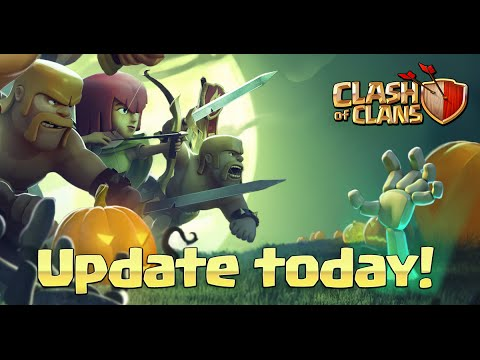 HALLOWEEN UPDATE FULL REVIEW! Clash of Clans New Update Features!
