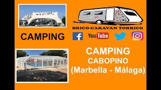 CAMPING CABOPINO - Marbella (Málaga) Costa del Sol