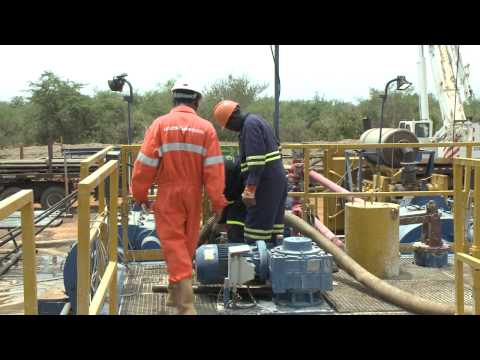 Exploration drilling in Block 1 of the Lake Albert Region