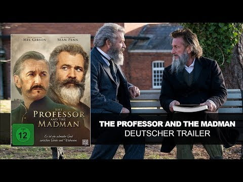 The Professor and the Madman (Deutscher Trailer) Mel Gibson, Sean Penn| HD | KSM