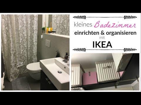 kleines bad einrichten organisieren mit ikea beautythoughtsbyalex youtube