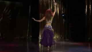 arabic belly dance - Malika from Russia