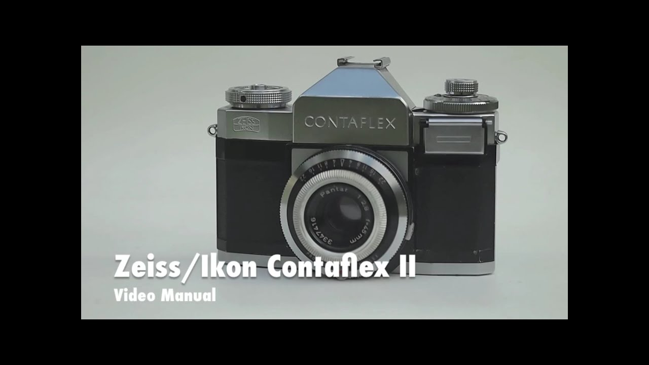 zeiss ikon contaflex beta video manual and overview youtube rh youtube com zeiss ikon user manual zeiss ikon user manual